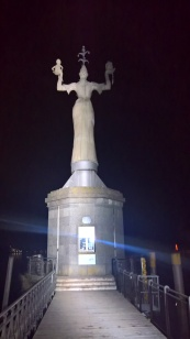 Statue of Imperia by Night