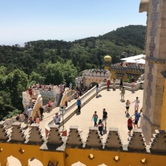 Terrace at the Pena Palace